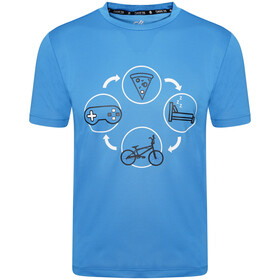 Dare 2b Rightful Tee Kids methyl blue
